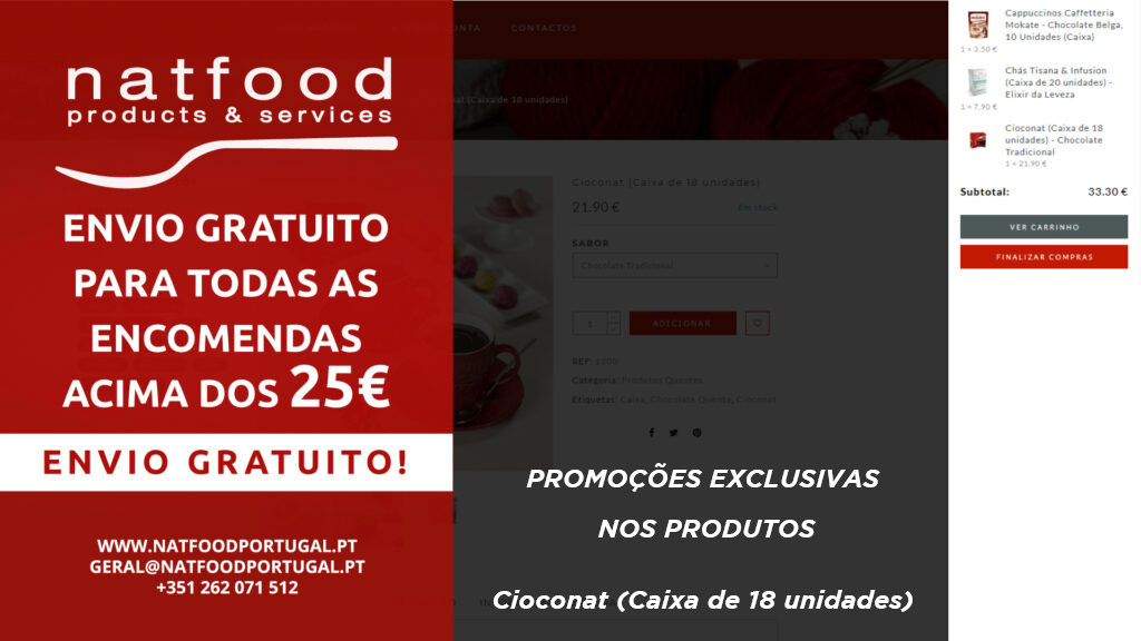 envio gratuito acima dos 25€